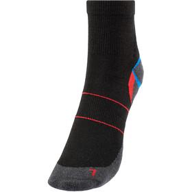 Rohner Silver Runner L/R II Socks, zwart/rood
